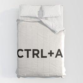 CTRL A Comforters