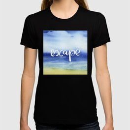 Escape - Collaboration by Jacqueline Maldonado and Galaxy Eyes T-shirt