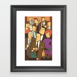 Madison Avenue Framed Art Print