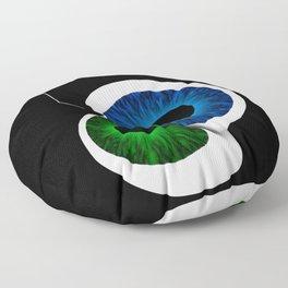 Eye Contact Floor Pillow