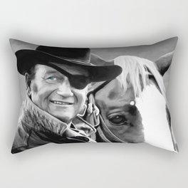John Wayne @ True Grit #1 Rectangular Pillow