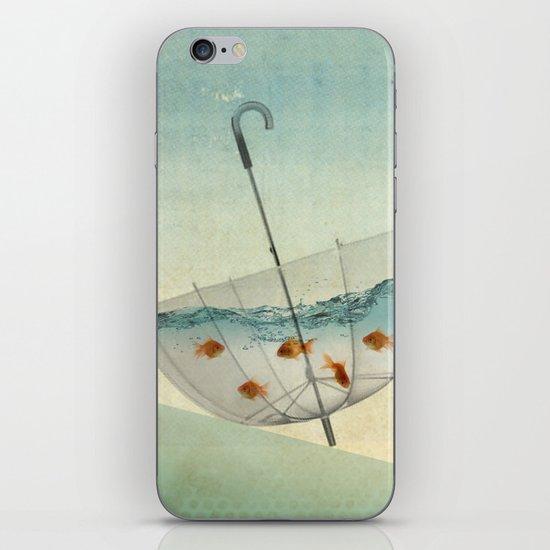 precarious position iPhone & iPod Skin