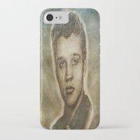 elvis presley iPhone & iPod Cases featuring Elvis Presley by Dan99