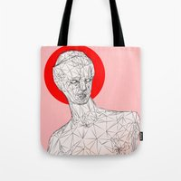 venus Tote Bags featuring Venus by Richard Winters