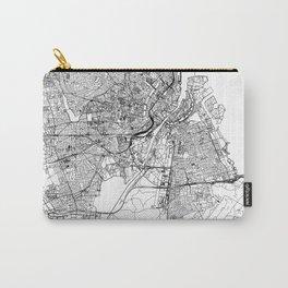Copenhagen White Map Carry-All Pouch