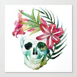 Skull 10 Canvas Print