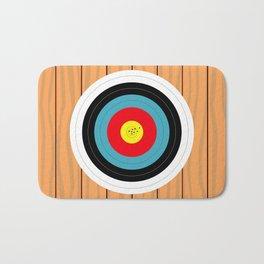 Shooting Target Bath Mat