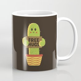 Free Hugs Cactus Coffee Mug