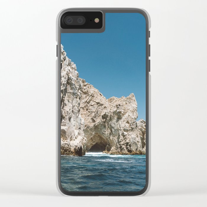 Cabo Cave Clear iPhone Case
