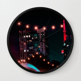 Leading Lights Wall Clock