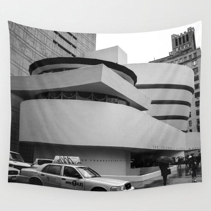 New York Solomon R Guggenheim Museum Frank Lloyd Wright Wall Tapestry By Daybreakelm