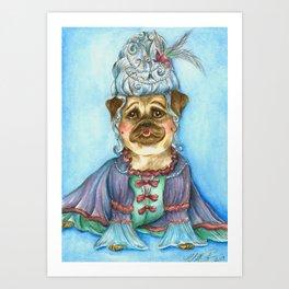 Marie Pugtoinette Art Print