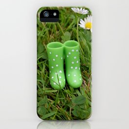 Little boots iPhone Case