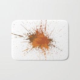 Splatter #12 Bath Mat