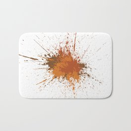 Splatter #12 Bath Mat