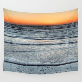 Fall Sunset Wall Tapestry