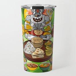 Hanuman's Meal Travel Mug