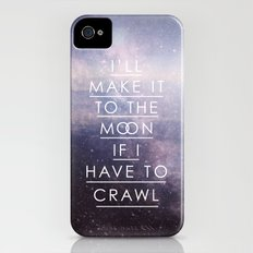 To The Moon iPhone (4, 4s) Slim Case