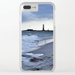 STORMY BALTIC Clear iPhone Case