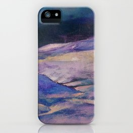 Winter mountains iPhone Case