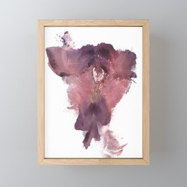 Verronica's Vulva Print No.3 Framed Mini Art Print
