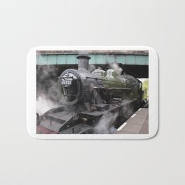 Vintage Steam Engine Bath Mat