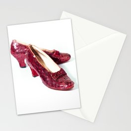 Ruby Slippers Movie Prop Red Sequins Stationery Cards