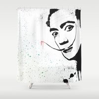 dali Shower Curtains featuring Dali by Cynthia Alvarez
