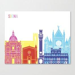 Siena skyline pop Canvas Print