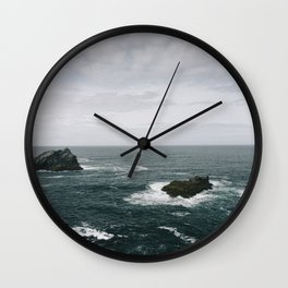 Cornish Coast Wall Clock