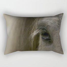 Blue eyes Rectangular Pillow