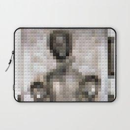 Legobrick Han Solo in Carbonite Laptop Sleeve