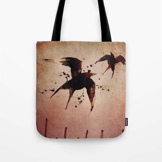 On your fears,  ... swallow them.   Tote Bag