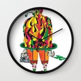 the big daddy Wall Clock
