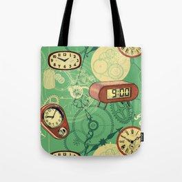 TIC TAC TIME Tote Bag