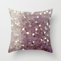plain Throw Pillows featuring Plain Jane by Bruce Stanfield