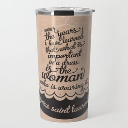 Little Black Dress Travel Mug