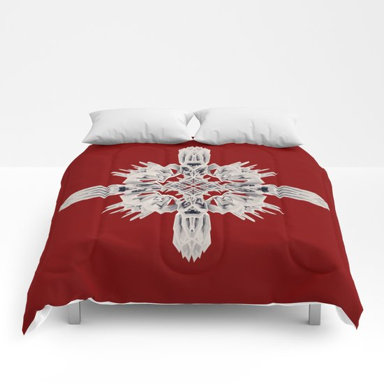 Ancient Royal Calaabachti Urn Comforters
