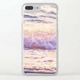 Atlantic Ocean Waves 4185 Clear iPhone Case