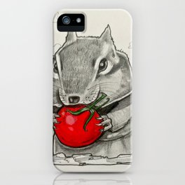 Chip n' Tomaters iPhone Case