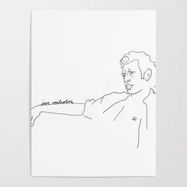 Jeff Goldblum, Ian Malcolm Poster