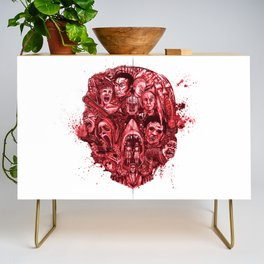The Essence of Horror [Red] Credenza