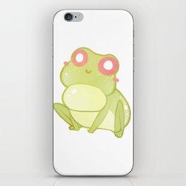 A little Happy Froggo iPhone Skin