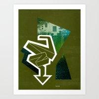 Reusable Directions No. 007 Art Print