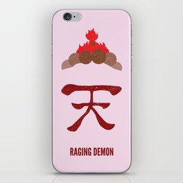 Akuma - Raging Demon iPhone Skin