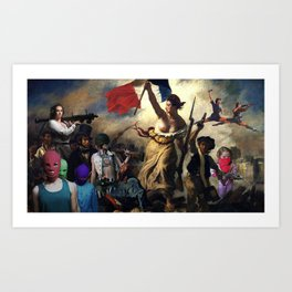 The Revolution Will Have Nipple Rings Art Print