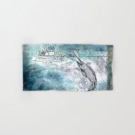 Fishing swordfish Hand & Bath Towel