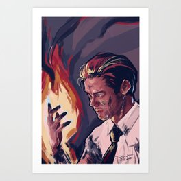 Burn Brighter Art Print