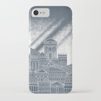 saturn iPhone & iPod Cases featuring Saturn by David Fleck