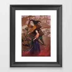 The Spirit of Tomoe Gozen Framed Art Print
